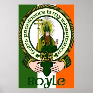 Boyle Clan Motto Poster Print