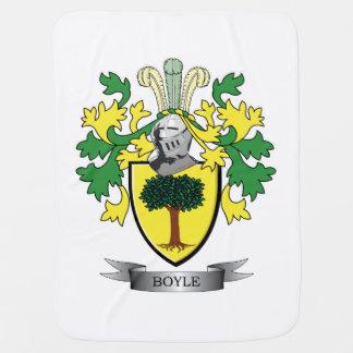 Boyle Coat of Arms Baby Blanket