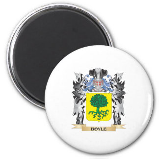 Boyle Coat of Arms - Family Crest 2 Inch Round Magnet