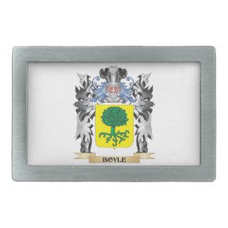 Boyle Coat of Arms - Family Crest Belt Buckle
