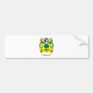 Boyle Coat of Arms (Family Crest) Bumper Sticker