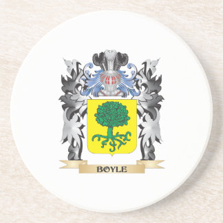 Boyle Coat of Arms - Family Crest Coaster