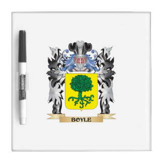 Boyle Coat of Arms - Family Crest Dry-Erase Whiteboard