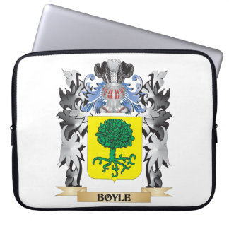 Boyle Coat of Arms - Family Crest Laptop Sleeve