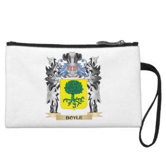 Boyle Coat of Arms - Family Crest Wristlet Clutch