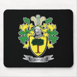 Boyle Coat of Arms Mouse Pad
