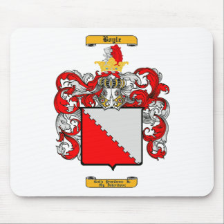Boyle (English) Mouse Pad