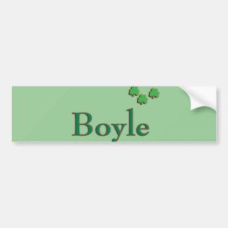 Boyle Family Bumper Sticker