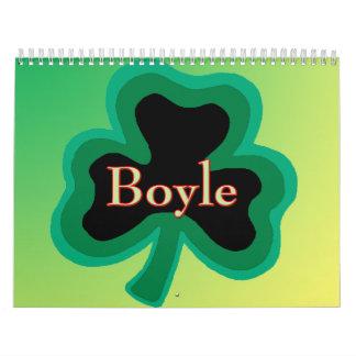 Boyle Family Calendar