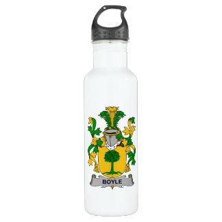 Boyle Family Crest 24oz Water Bottle