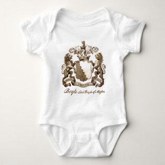 BOYLE FAMILY CREST BABY BODYSUIT