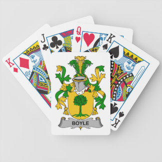 Boyle Family Crest Bicycle Playing Cards