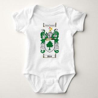 BOYLE FAMILY CREST -  BOYLE COAT OF ARMS BABY BODYSUIT