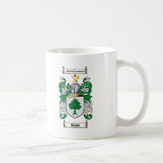 BOYLE FAMILY CREST -  BOYLE COAT OF ARMS COFFEE MUG