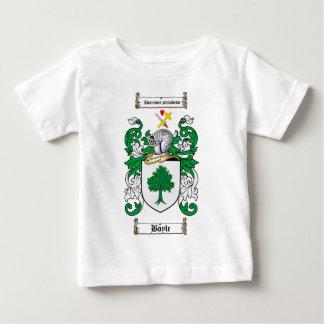 BOYLE FAMILY CREST -  BOYLE COAT OF ARMS INFANT T-SHIRT