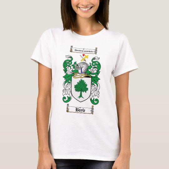 BOYLE FAMILY CREST -  BOYLE COAT OF ARMS T-Shirt