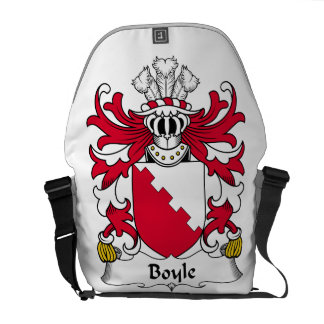 Boyle Family Crest Courier Bags