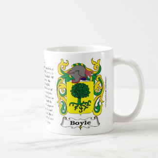 Boyle, History, Meaning and the Crest Mug
