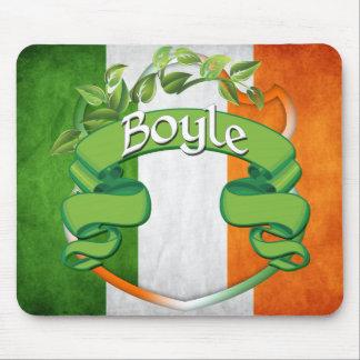 Boyle Irish Shield Mouse Pad