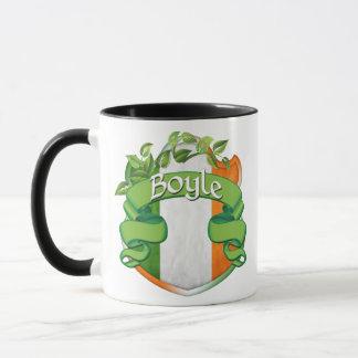 Boyle Irish Shield Mug