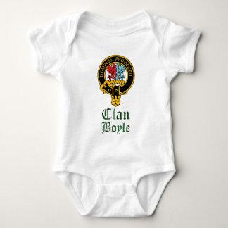 Boyle Scottish Crest Tartan Clan Name Clothes Baby Bodysuit