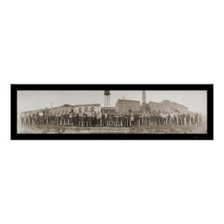 Boyne City, MI Tanning Photo 1913 Poster