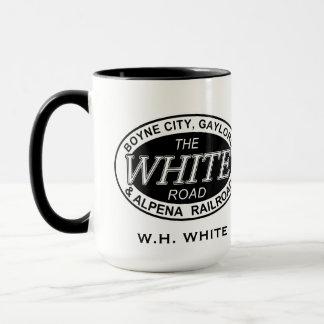 Boyne City Railroad Mug