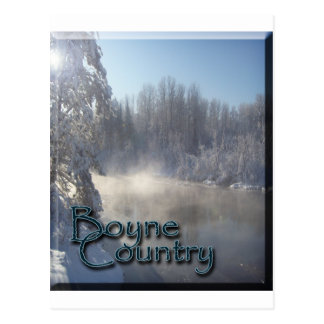 Boyne River Winter Postcard