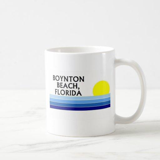 Boynton Beach, Florida Classic White Coffee Mug