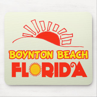 Boynton Beach, Florida Mouse Pad