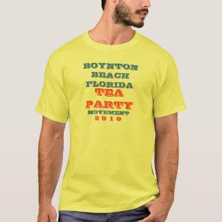 BOYNTON BEACH FLORIDA  TEA PARTY MOVEMENT T-Shirt