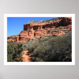Boynton Canyon Trail Poster