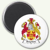 Boynton Family Crest Magnet