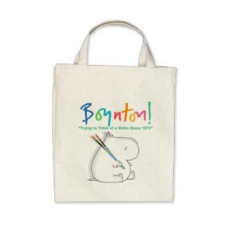 BOYNTON HIPPO LOGO BAGS