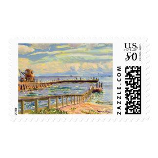 Boynton Inlet postage stamp