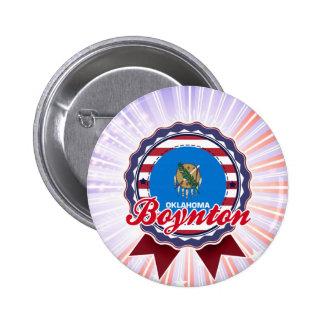 Boynton, OK Button
