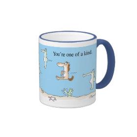 Boynton Seahorses Ringer Coffee Mug