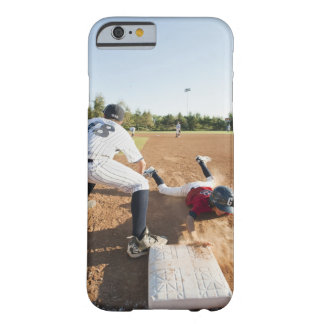 Boys (10-11) playing baseball barely there iPhone 6 case