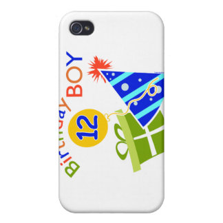 Boys 12th Birthday iPhone 4 Covers