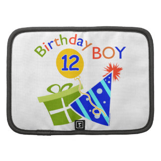 Boys 12th Birthday Organizer