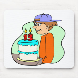 Boys 13th Birthday Gifts Mouse Pad