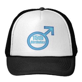 Boys 15th Birthday Gifts Trucker Hat