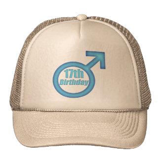 Boys 17th Birthday Gifts Trucker Hat
