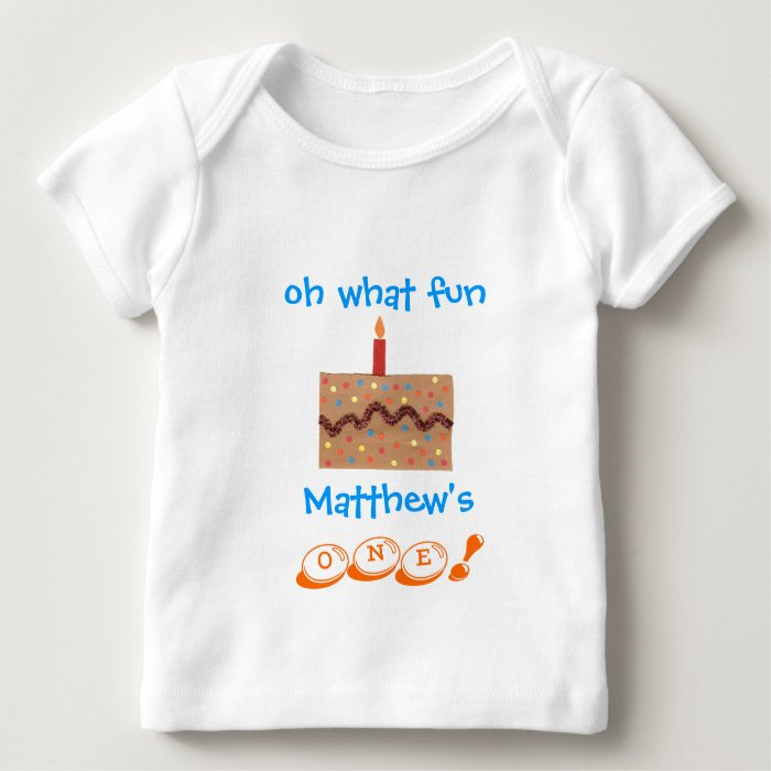 Boys 1st Birthday Outfit Personalized With Name Baby T