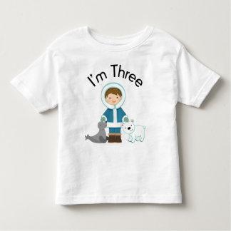 Boys 3rd Birthday Toddler T-shirt