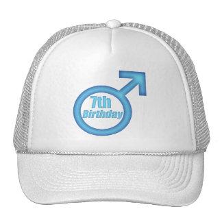 Boys 7th Birthday Gifts Trucker Hat
