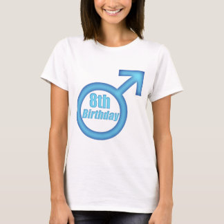 Boys 8th Birthday Gifts T-Shirt