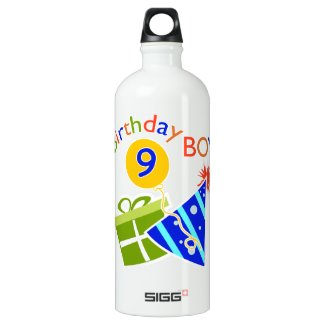 Boys 9th Birthday SIGG Traveler 1.0L Water Bottle