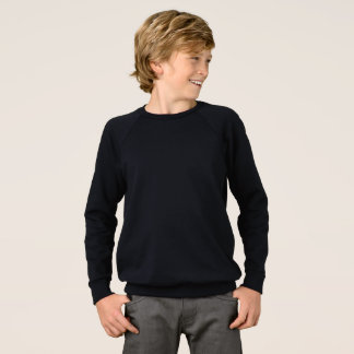 Boys' American Apparel Raglan Sweatshirt