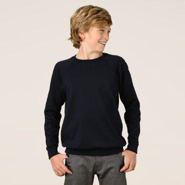 Beach Themed Boys' American Apparel Raglan Sweatshirt